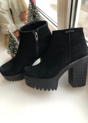 Демисезонные ботинки lottini