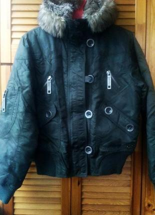 Куртка аляска l зима