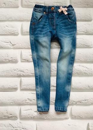 I love next  стильные джинсы на девочку 2-3 года