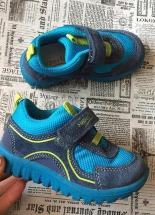 Superfit кроссовки натуральная замша 22 р