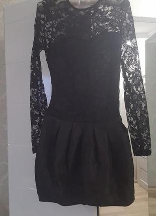 Нарядное платье asos черное