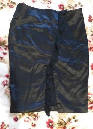 Шикарная атласная юбка