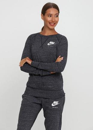 Кофта свитшот худи nike gym vintage sweatshirt оригинал! - 30%