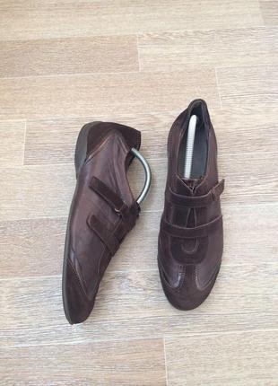 Select  кожаные туфли 43р