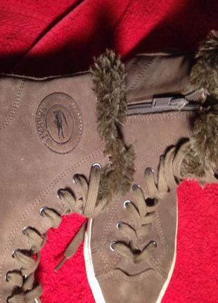 Ботинки кеды демисезон