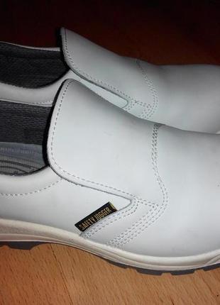 Кожаные рабочие туфли