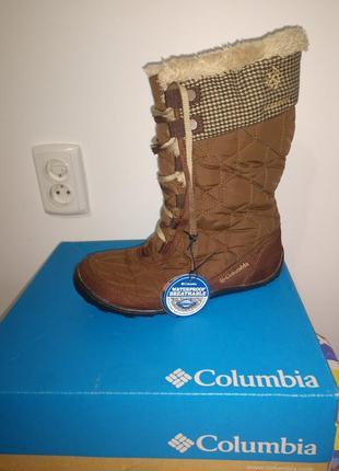 Зимові фірмові чобітки columbia minx min
