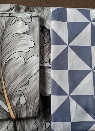 Комбинированный комплект постельного белья, комплект постільної білизни4 фото