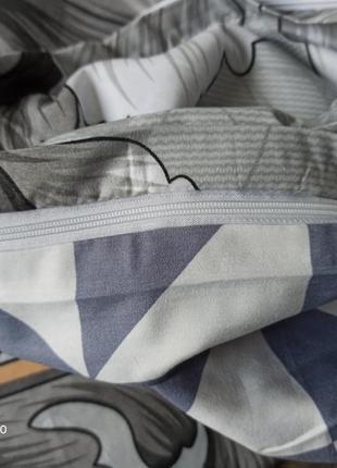 Комбинированный комплект постельного белья, комплект постільної білизни6 фото