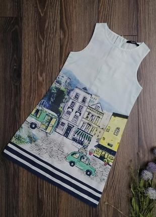 Платье туника для девочки рост 122-128см