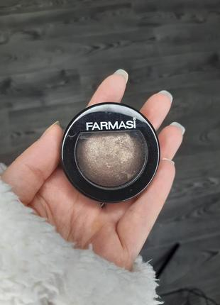 Запеченные сияющие бронзовые тени для век farmasi отличное качество