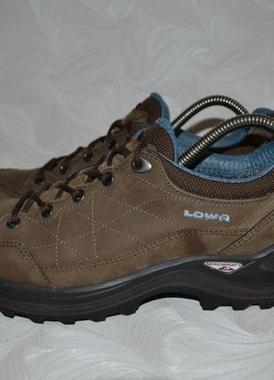 Кожаные кроссовки lowa gore-tex, р. 39