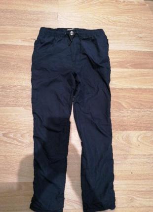 Zara брюки 8 / 128  маломерят на худеньких мягкая плащевка, внутри трикотаж