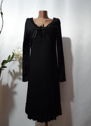 Трикотажное платье с имитацией болеро