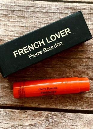 Пробники аромата frederic malle french lover