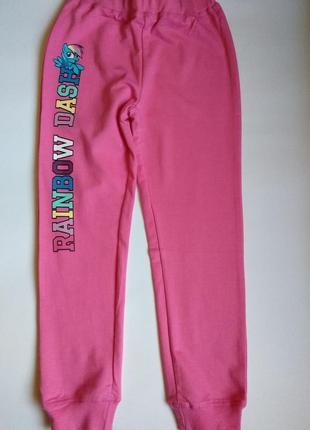 Спортивні штани для дівчинки 122/128