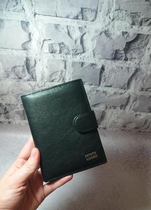 Мужской кожаный кошелек из натуральной кожи чоловічий гаманець кожаное портмоне