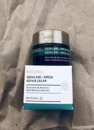 Biossance питательный крем для лица squalane + omega repair cream