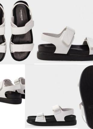 Сандалии сандали босаножки босоножки 39 размер кожаные кожа