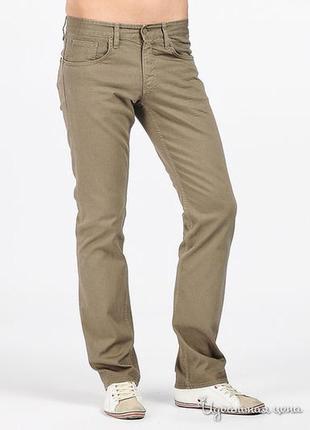 Прямые джинсы хаки