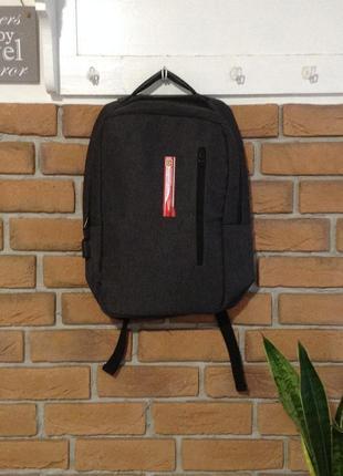 Классный рюкзак для ноутбука с выходом  для usb р.43х36(новый!)