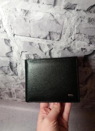 Мужской кожаный кошелек из натуральной кожи шкіряний чоловічий гаманець