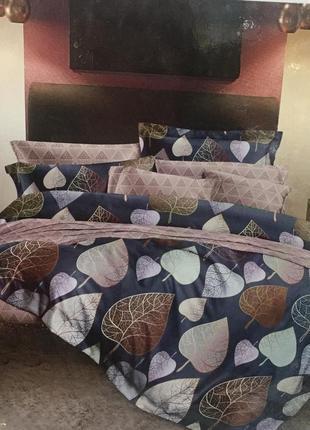 Евро комплект турецкого постельного белья