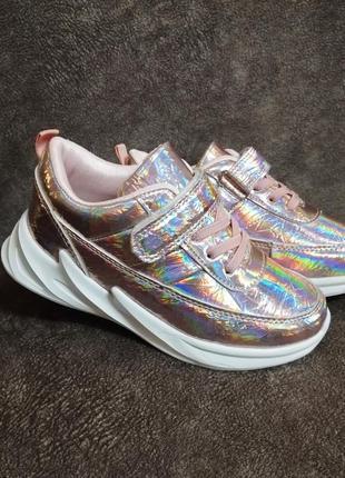 Кроссовки для девочек jong golf hologram