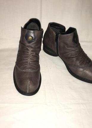Ботинки *rieker* кожа германия р.40 ( 26.00 см)