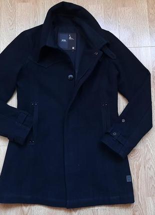 Пальто g-star raw (65% шерсть), р.s