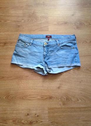 Стильні короткі джинсові шорти/під майка футболка/ oasis/141 фото