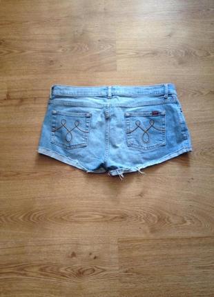 Стильні короткі джинсові шорти/під майка футболка/ oasis/142 фото
