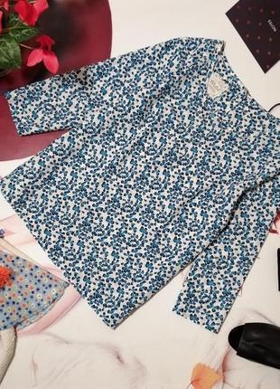 Блуза mistral, 100% хлопок-батист, размер 16