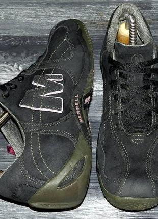 Merrell circuit ! оригинальные, кожаные невероятно крутые кроссовки
