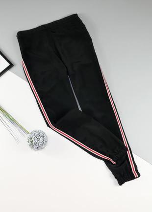 Лёгкие штаны с лампасами primark на 11-12 лет/152 см