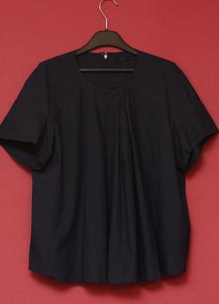 Cos 38 m wmns женская блуза оверсайз кроя хлопок