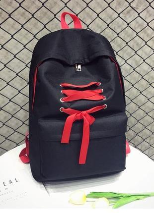 Молодіжний рюкзак стильний місткий 382