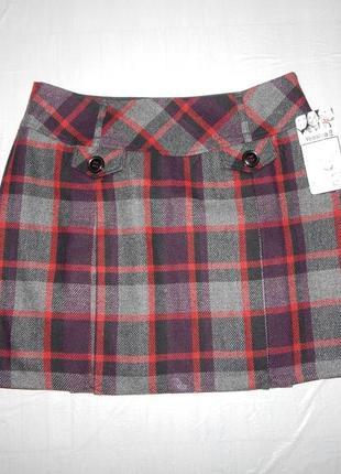 М-l, поб 50-52, теплая новая юбка c шерстью yessica