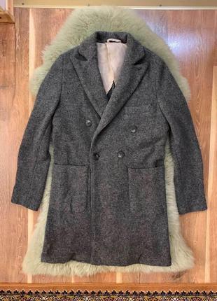 Шерстяное пальто mcritchie!