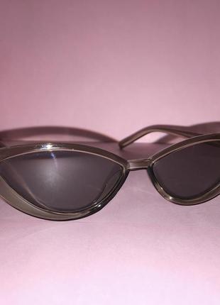 Солнцезащитные имиджевые узкие очки