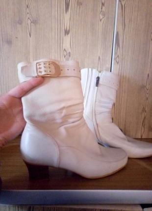 Ботинки кожа натуральная