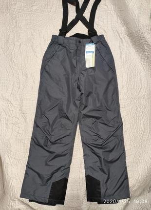 Зимние лыжные штаны crane, рост 146-152