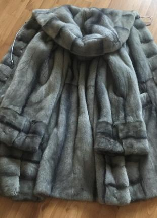 Шикарная шуба норковая греция 46-48