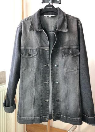 Джинсовка оверсайз джинсовая курта