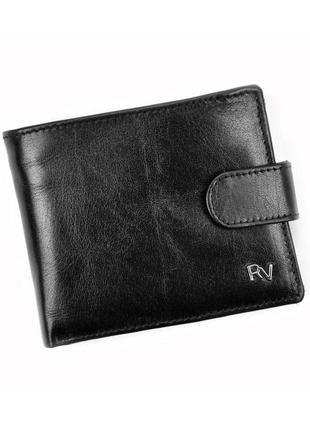 Мужской кожаный кошелек rovicky rv-70616