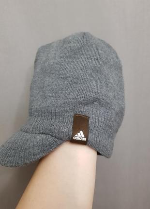 Теплая кепка шапка adidas