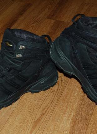 Кожаные ботинки на мембране 43 р adidas goretex clima proof оригинал