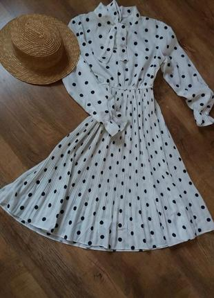 Платье сукня в горох