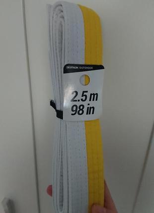 Пояс для 🥋 дзюдо 2,5м