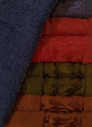Набор махровых полотенец 2 шт